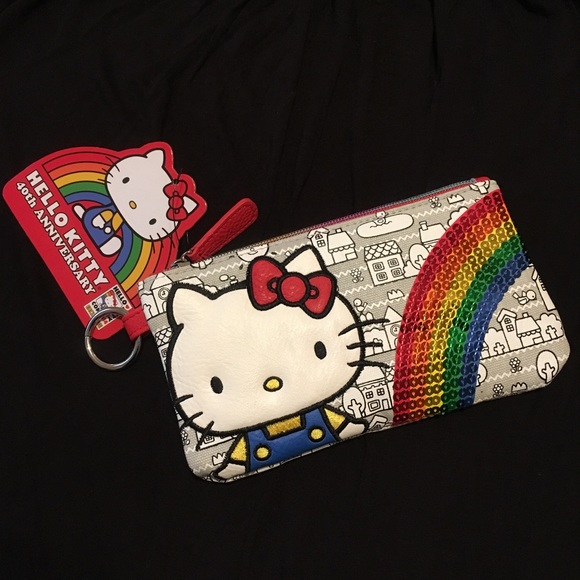 Sanrio x Loungefly Hello Kitty zip pouch 1d379786a2db1
